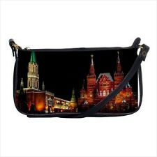 Red Square Moscow Russia Shoulder Clutch Handbag & Mini Coin Purse