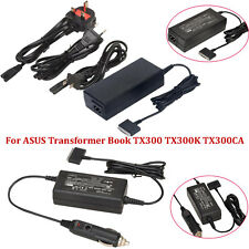 AC Power/Car Charger Adapter For ASUS Transformer Book TX300 TX300K TX300CA
