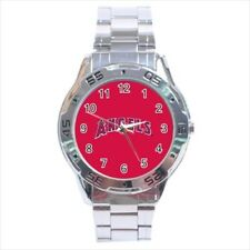 La Angels Of Anaheim Stainless Steel Watches - MLB Baseball