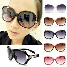 Retro Fashion Big Style Women's Vintage Shades Oversized Designer Sunglasses