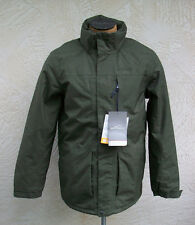 New Men's Eddie Bauer Port Townsend Insulated Parka Deep Olive Jacket Coat NWT