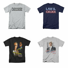 Law and Order T-Shirts 4 Great Designs Officially Licensed TV Show Tees NEW