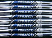 NEW RIFLE PROJECT X FLIGHTED 6.0 IRON SHAFT. .355 TAPER TIP. CHOOSE LENGTH