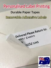 Personalised Labels Stickers 62mmx29mm Return Address Signs Name Badges Shipping