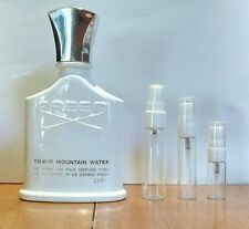 Creed Silver Mountain Water EDP 3 5 10ml Sample Spray in Glass Atomizer