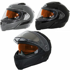 Zox Condor SVS S Snow Modular Double Shield Snowmobile Helmet DOT ECE Approved