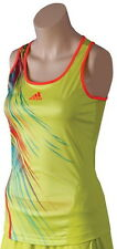 NEW WOMENS ADIDAS AdiZero CLIMACOOL TENNIS RUNNING WORKOUT FITNESS TANK TOP  $50