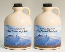 4 Gallons Pure Vermont Maple Syrup (ships as 8 half gal)