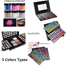 Full Colors Cosmetic Matte Eyeshadow Cream Eye Shadow Makeup Palette Shimmer Set
