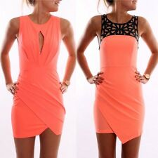 Sexy Womens Summer Casual Sleeveless Evening Party Cocktail Mini Dress Clubwear