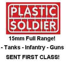 PLASTIC SOLDIER COMPANY 15MM RANGE - SOVIET BRITISH GERMAN WORLD OF TANKS WW2