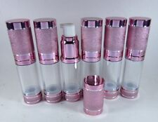 Empty Airless Vacuum Bottle Refill Cosmetic Cream Lotion Serum 15 ml 1-12 Bottle