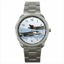 F 35 Airforce Fighter Jets Stainless Steel Watches