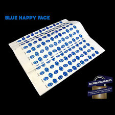 100 x Tyvek Party, Event, ID Wristbands Happy Face *6 COLOURS AVAILABLE*