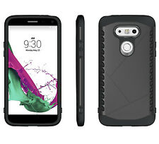 Hybrid Rugged Bumper Dual Layer Hard Back Case Cover For LG G5 New US Warehouse