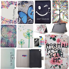 Cute Patterns Case For Tablet Samsung iPad PU Leather Stand Protective Cover