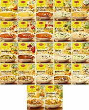 Maggi Germany - Gourmet Soup - German Maggi Soup - Your choice