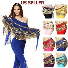 Colorful Beads Belly Dance Hip Scarf Costume Belt New