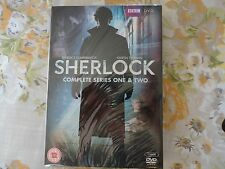 Sherlock Complete BBC Series 1 And 2 DVD Box Set New Holmes Benedict Cumberbatch