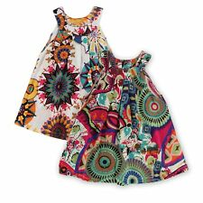 Kid Baby Child Toddler Girl Beach Dress Sleeveless Strappy Floral Sundress