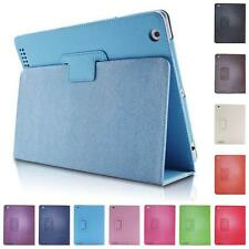 New Ultra PU Leather Stand Folio Flip Case Cover For Apple iPad 2 3 4 air 9.7""
