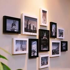 Wood Effect Photo Picture Poster Frames Box Molding Design Hang Stand Muti Size