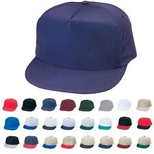 BLANK TWO TONE 5 PANEL BASEBALL COTTON TWILL SNAPBACK HAT HATS CAP CAPS