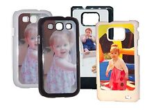 Custom Personalised S2 & S3 protective case with your photo and text free p&p