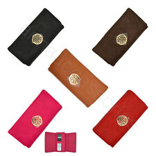 Women Lady Soft Synthetic leather Clutch Wallet Long Card Purse #4