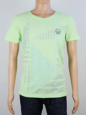 NEW Duck & Cover Mens Size M L Green Crew Neck T Shirt Top