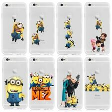 COVER iPHONE 6 6S transparent hard case MINION MINIONS Despicable Me
