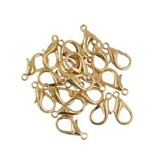 20pcs 18mm Lobster Claw Trigger Clasp Jewelry DIY Findings Makings Bronze