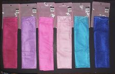 New in Package Drawstring Mesh Pointe Shoe Bag Dance Pinks Blues or Lavender