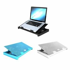 5 Fans LED USB Adjustable Height Stand Pad Cooler For Laptop Notebook MG