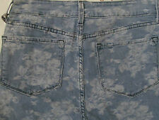 NYDJ Not Your Daughter Jeans Floral Blue Skinny Jeans - NWT