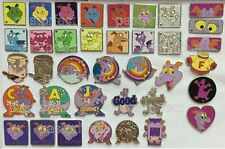 DISNEY PIN FIGMENT WDW HIDDEN MICKEY w/ COMPLETERS CHASERS Cast Lanyard Trading