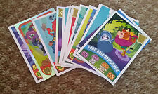Moshi Monster Stickers and Mash Up Cards