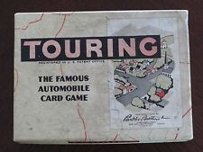 FAMOUS AUTOMOBILE CARD GAME-TOURING -BY PARKER BROTHERS 1955