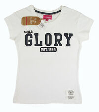 Soul & Glory Girls 7 yr 8 yr 9 yr 10 yr White T Shirt Top