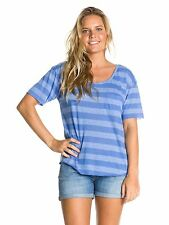 ROXY SMOKE SIGNALS WOMENS SS T SHIRT TOP SUMMER