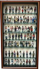 """Wall Mounted Display Cabinet TM7V 2"""" Hand Made in the UK ideal for soldiers"""