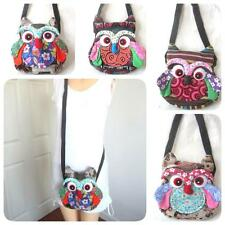 OWL! THAI FABRIC COTTON HANDMADE SHOULDERBAG SLING PURSE PATCHWORK HOBO GIFT