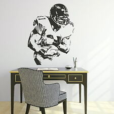 American Football Wall Sticker / Vinyl Decal Transfer / Art Graphic Stencil X71