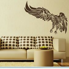 Tribal Eagle bird wall sticker art transfer decal graphic mural and car new ne29