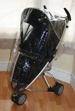 BRAND NEW PVC COVERALL RAINCOVER FITS QUINNY ZAPP STROLLER PUSHCHAIR 3 WHEEL