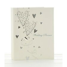 Wedding PLANNER BOOK Silver Hearts - Photo Album and Guest Book also available
