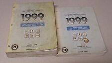 1999 Chevrolet GM Transmission Unit Repair Service Shop Manual Complete Set