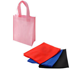 100 LOT Non-Woven Gift Present Bags Eco Friendly Shopping Tote Totes WHOLESALE