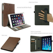 aLLreli New Leather Flip Wallet Stand Smart Case Cover For ipad air 2 ipad 3mini