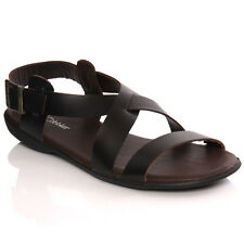 UNZE MENS 'IKEI' HANDMADE SPANISH LEATHER FLAT SUMMER SANDALS  SIZE UK 6,7,8,9,1